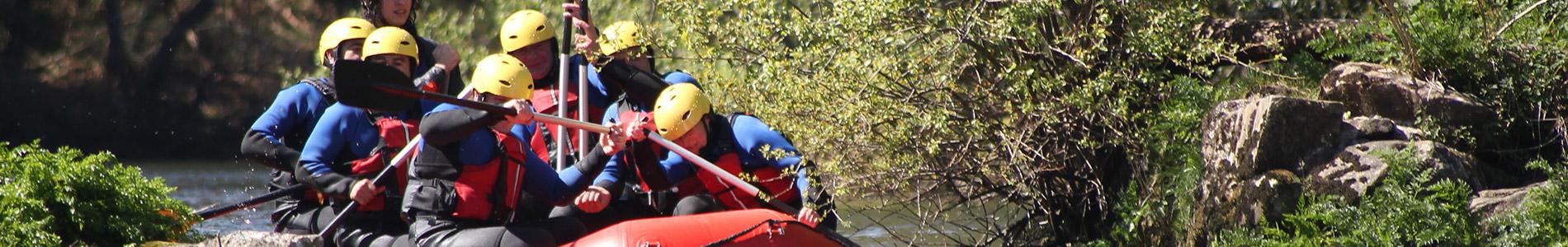 Führungskräfteentwicklung, Rafting, Fluss, Wildwasser, Teamführung, Teamtraining
