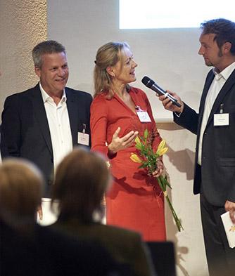 Maxsult, goldene Lillie in Wiesbaden, Preisverleihung, Dirk Spöhrer, Antje Bördner