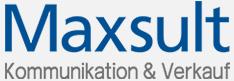Maxsult Kommunikation und Verkauf Logo