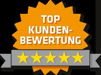 Badge Kundenbewertung